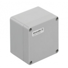 WEIDMULLER, #1305870000, KLIPPON POK 121209, GRP ENCLOSURE, GREY, SIZE: 120 X 122 X 90MM, IP66