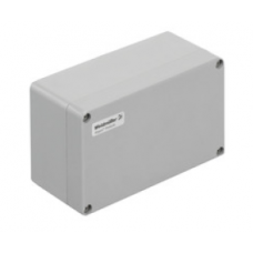 WEIDMULLER, #1305880000, KLIPPON POK 122209, GRP ENCLOSURE, GREY, SIZE:120 X 220 X 90MM, IP66