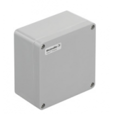 WEIDMULLER, #1305890000, KLIPPON POK 161609, GRP ENCLOSURE, GREY, SIZE: 160 X 160 X 90MM, IP66