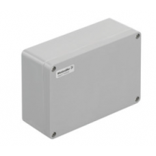 WEIDMULLER, #1305900000, KLIPPON POK 162609, GRP ENCLOSURE, GREY, SIZE: 160 X 260 X 90MM, IP66