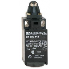 SCHMERSAL, ZR 236-11Z POSITION SWITCH WITH ROLLER PLUNGER R #101153241